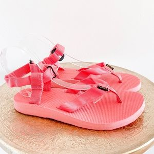 Teva Bright Pink Original Sandals
